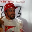 Fernando Alonso (foto Lapresse)