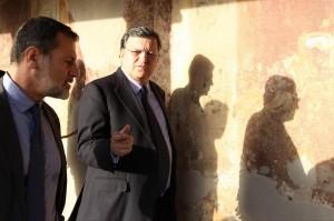 """Barroso: """"L'Italia è stata vicina all'abisso ma non può incolpare Merkel"""""""