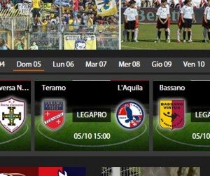 Teramo-L'Aquila, diretta streaming su Sportube.tv, ecco come vederla