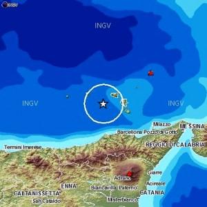 Terremoto Sicilia alle Isole Lipari: scossa 4.3 avvertita fino in Calabria