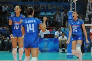 Pallavolo, Mondiali donne: Italia-Azerbaigian 3-1