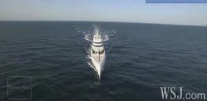 Il mega-yacht da 394 metri, del milionario russo Andrey Melnichenko