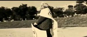 Beppe Grillo-Ben Hur al Circo Massimo su biga elettrica