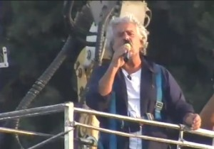 Beppe Grillo al Circo Massimo, l'intervento integrale VIDEO