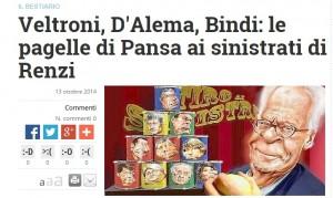 Veltroni, D'Alema, Bindi: le pagelle di Pansa ai sinistrati di Renzi