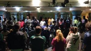 Una riunione dell'ASD Opti Pobà (foto Facebook)