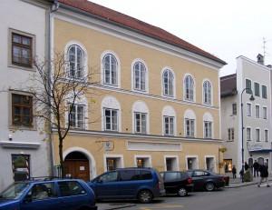 La casa natale di Adolf Hitler