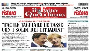 """Marco Travaglio sul Fatto Quotidiano: """"Avevamo ragione noi"""""""