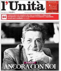 L'Unità verso il ritorno: si fa avanti Guido Veneziani, editore di Stop e Vero