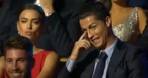 """Comica spagnola: """"Cristiano Ronaldo, ti ho visto in mutande..."""" e Irina s'arrabbia VIDEO"""