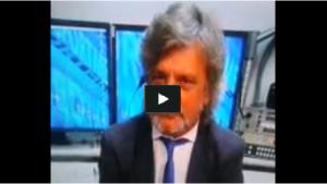 Massimo Ferrero show a Tiki Taka: imita Crozza e sogna Antonio Cassano