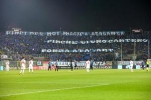 Atalanta-Roma, scontri tifosi: due agenti in ospedale per esplosione bomba carta