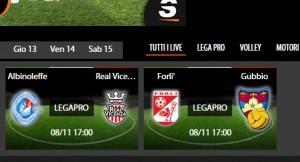 Albinoleffe-Real Vicenza, diretta streaming su Sportube.tv, ecco come vederla