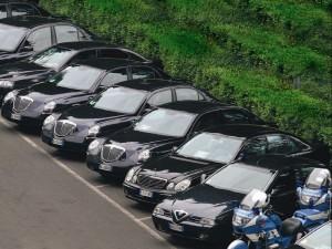 Auto blu, taglio irrisorio: ridotte solo del 3%