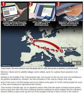 La mappa del Daily Mail