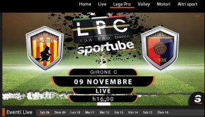 Benevento-Casertana: diretta streaming su Sportube.tv, ecco come vederla
