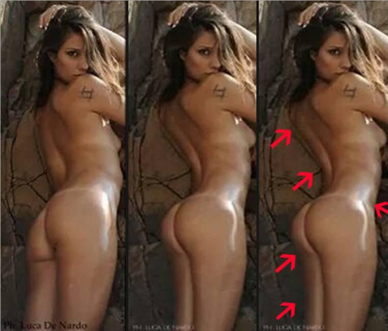 Beatrice Valli, foto calendario su Fb per errore... poi corrette con photoshop