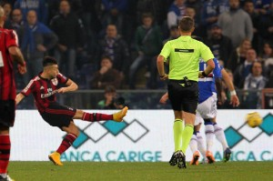 Video gol e pagelle. Sampdoria-Milan 2-2: Okaka - El Shaarawy superlativi