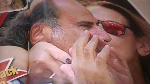 Barbara D'Urso bacia Fabio Margarita: solo amici o qualcosa di più? FOTO