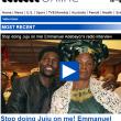 """Emmanuel Adebayor: """"Mia madre è una strega che fa fatture per rovinarmi"""""""