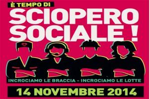 Sciopero sociale 14 novembre, 25 città in tilt: trasporti, statali, studenti...