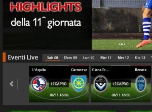 Giana Erminio-Renate: diretta streaming su Sportube.tv, ecco come vederla