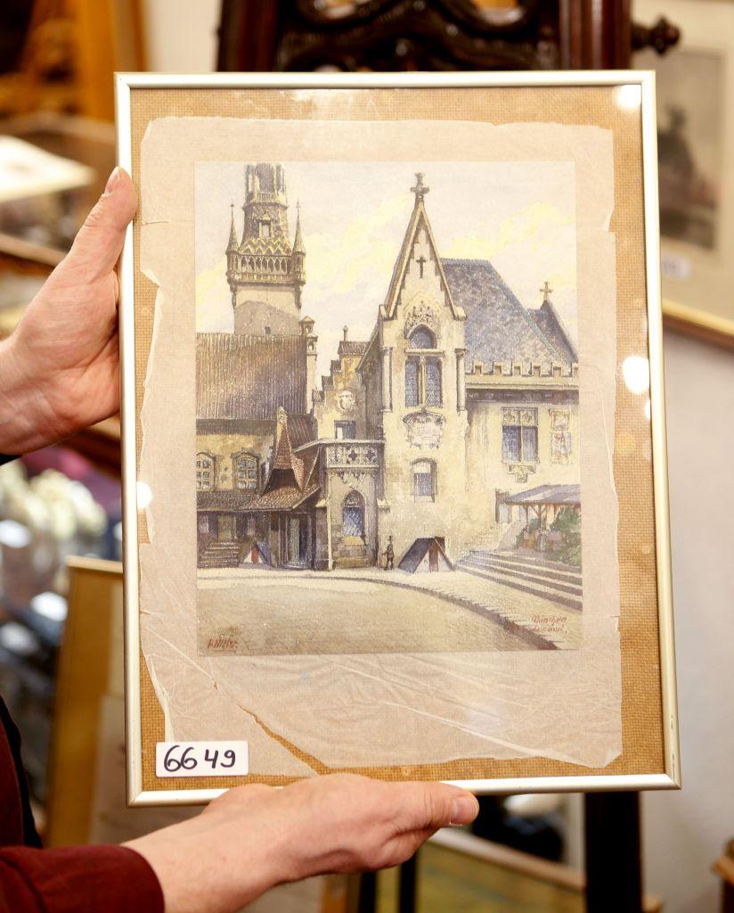 Adolf Hitler, suo acquerello del 1914 venduto a 130.000 euro