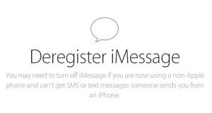 iMessage, come disattivare servizio sms gratis Apple