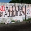 Roma, Forza Nuova : manichini impiccati contro rifugiati ospitati all'Infernetto FOTO 3