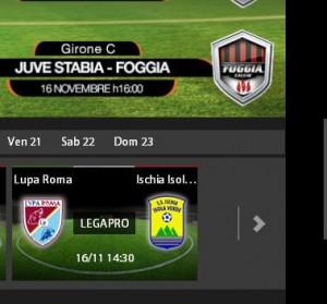 Lupa Roma-Ischia Isolaverde: diretta streaming su Sportube.tv, ecco come vederla