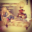 Valeria Marini, scatti sexy dedicati ai suoi follower su Facebook 01