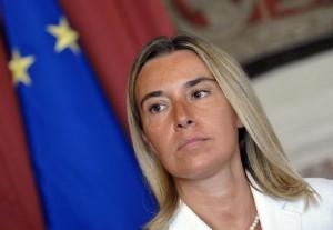 """Federica Mogherini: """"Serve uno Stato palestinese, questo è l'obiettivo dell'Ue"""""""