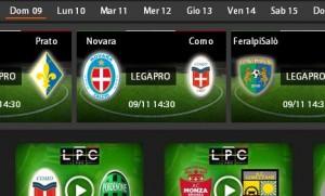 Novara-Como: diretta streaming su Sportube.tv, ecco come vederla