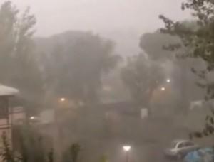Maltempo Roma, nubifragio a Casal Palocco: il video