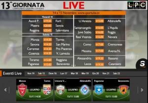 Paganese-Benevento: diretta streaming su Sportube.tv, ecco come vederla