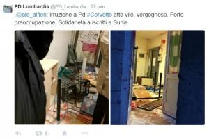 Case Aler Milano. Incappucciati assaltano sede Pd e Unione Inquilini