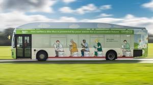 Cacca bus: 300 chilometri con un pieno
