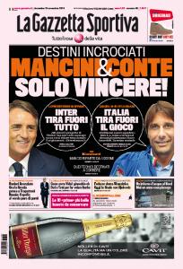 """Inter, Roberto Mancini: """"Conta solo vincere, tiriamo fuori tutto"""""""