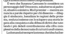 "E in Emilia Fiom parola d'ordine: ""Boicottate voto al Pd di Renzi"""