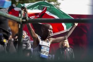 Maratona New York, vince il keniano Wilson Kipsang
