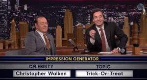 Kevin Spacey imita Christopher Walken, Michael Caine e Bill Clinton VIDEO