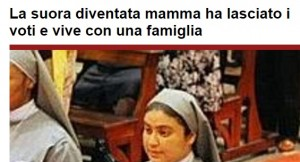 Roxana Rodriguez, suora mamma di Rieti, lascia i voti e va a Roma