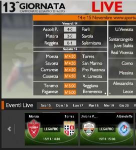 Unione Venezia-Albinoleffe: diretta streaming su Sportube.tv, ecco come vederla