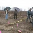 Il campo dove è stato ritrovato il cadavere di Yara Gambirasio