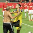 Hapoel-Maccabi, derby finisce in rissa. Aggredito Eran Zahavi VIDEO
