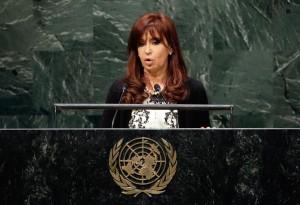 Cristina Kirchner (Foto Lapresse)