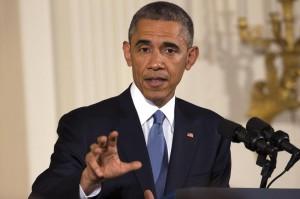 Barack Obama in conferenza stampa sulle elezioni midterm