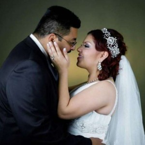 Martin Castillo e Jessica Garza