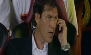 Rudi Garcia deferito per uso cellulare in Livorno-Roma del 2013