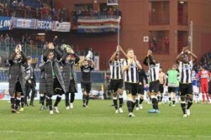 Sampdoria-Udinese 2-2. Pagelle e tabellino